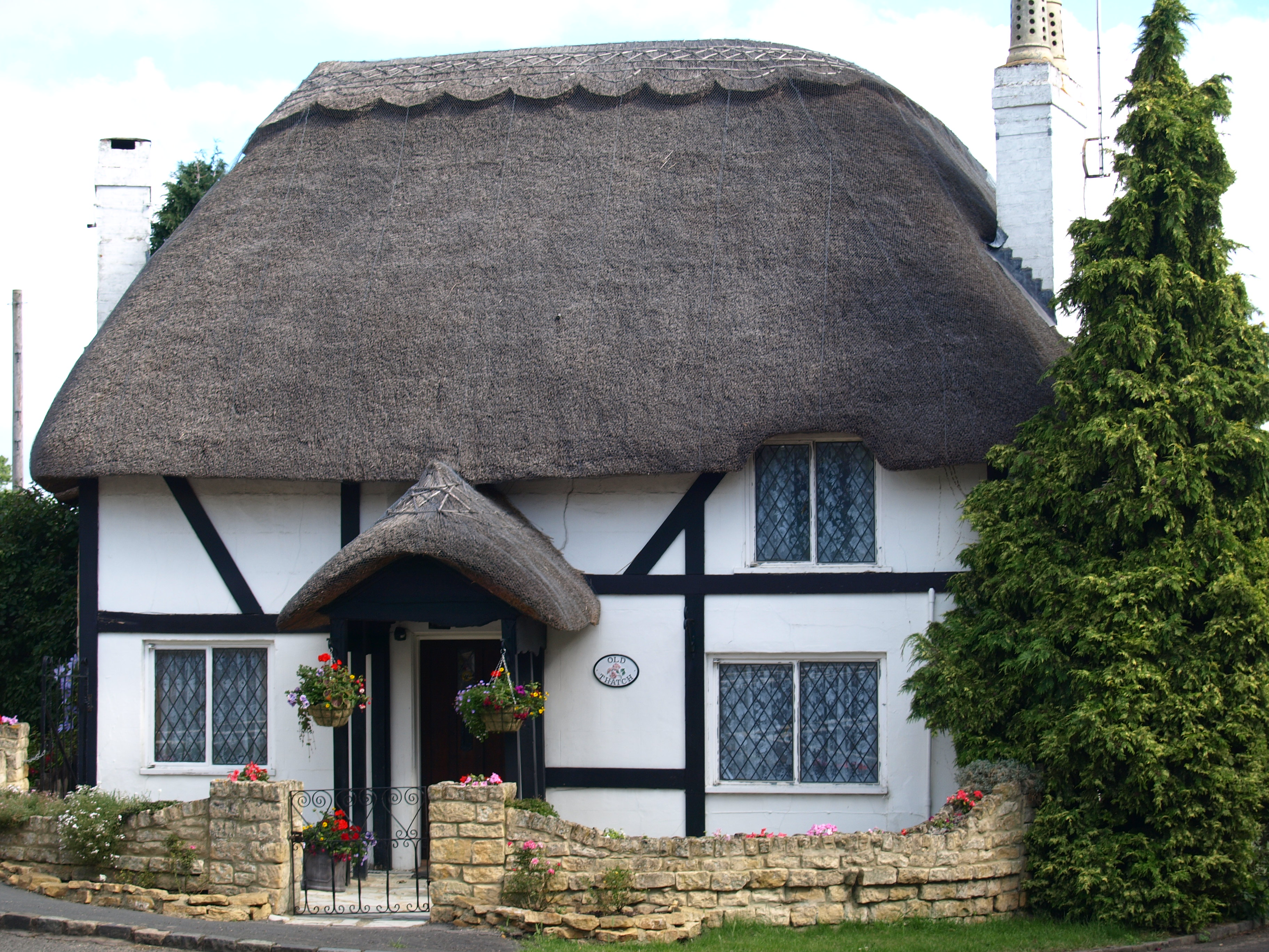 procedural thatched roof - Thatched Rood